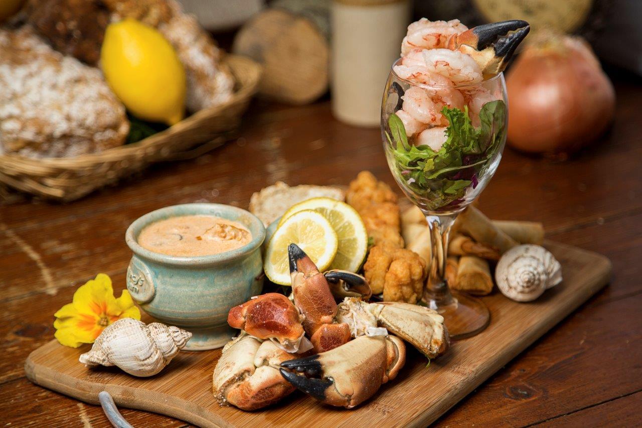 Nancy's Famous Seafood Platter
