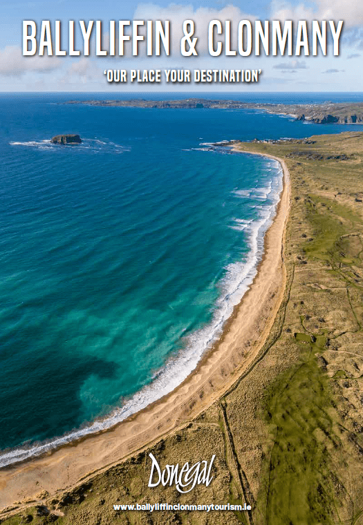 Cover of Ballyliffin Clonmany Tourism brochure