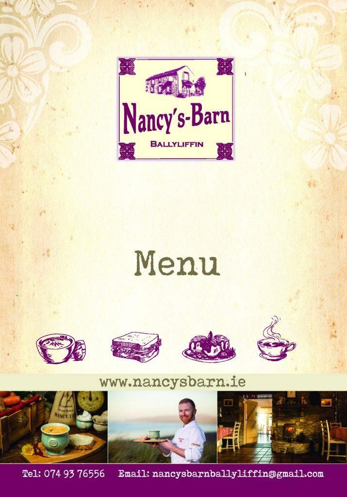 http://www.nancysbarn.ie/wp-content/uploads/2019/10/NancysBarn_Menu_Book_A5_Page_01-715x1024.jpg